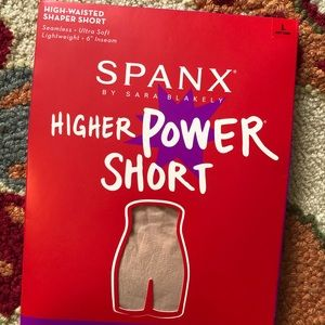 SPANX High Waisted Shapewear Shorts
